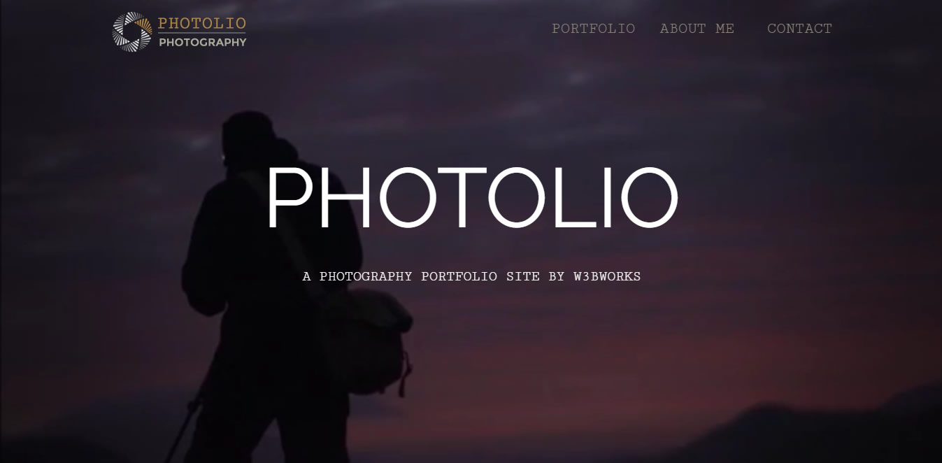 Photolio Homepage